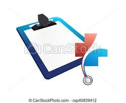 Patient Chart Clipboard Medical Chart Clipboard Illustration Design