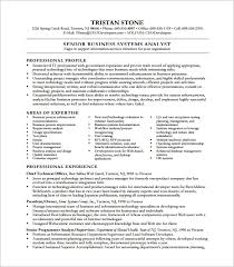 Business Analyst Resume Template 11 Free Word Excel Pdf Free Business  Systems Analyst Resume Template