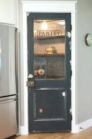 rustic pantry doors simple half glass door vintage for ideas 1 vision with frosted home depot