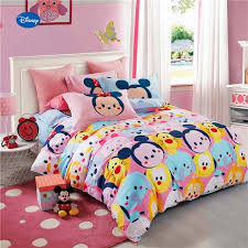 mickey mouse full bedding luxury mickey minnie mouse tigers printed forter bedding set girl s