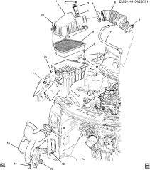 2012 chevy equinox engine diagram 2012 database wiring 2011 2012 chevrolet equinox captiva 3 0 flex v6 pcv tube new oem