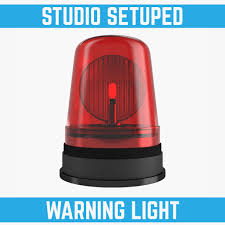 Light And Siren Combo Siren Light White Background Illustration Remote And