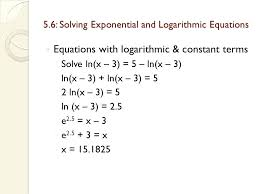 Solving Ln Equations Math Logarithms Solve For X Mathematics Stack ...