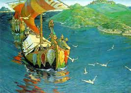 Image result for artists paintings of vikings