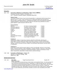 Medical Assistant Cover Letter Samples Inside Physician Medical Doctor  Resume Example