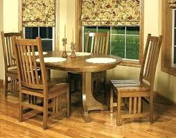mission dining table mission dining room set home a round mission table mission style dining room