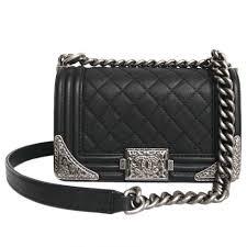 chanel shoulder bag. chanel boy paris-dallas limited édition shoulder bag black leather a107413 l