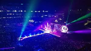 Gillette Stadium Section 333 Row 1 Seat 10 Coldplay Tour A