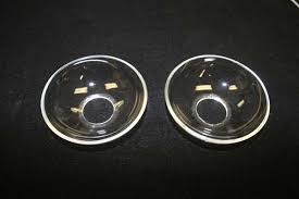 two new bobeches ground polished and drilled