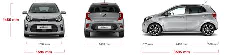 2018 kia picanto. brilliant 2018 height 1480mm front width 1595mm body 1421 length with 2018 kia picanto
