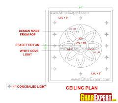 cove ceiling lighting. POP False Ceiling Light With C. Cove Lighting