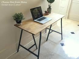 Image Corner Desk Gumtree Long Home Office Desk With Ikea Legs Ships Free