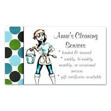 Housekeeping Company Names Housekeeping Business Cards House Cleaning Business Cards Ideas