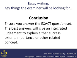 strategies for teaching and assessing pre u mandarin chinese paper 97 essay
