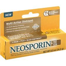 Neosporin +<b>Pain Itch Scar</b> First Aid Antibiotic/<b>Pain</b> Relieving ...