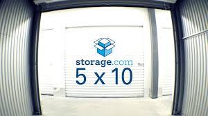 5x10 storage unit storage