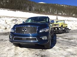 2015 Infiniti Qx80 Takes On The Extreme Towing Test Ike