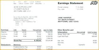 Free Printable Pay Stubs Forms Awesome Create A Pay Stubs Free Stub Template Word Excel Format