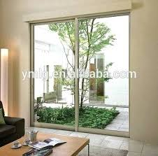 residential interior small sliding patio door with double tempered glass doors remove tint from
