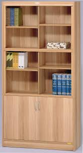 office bookcase with doors. Wall Bookshelves Ikea Classic Style Alder Bookcase With Solid Wood Door And Storage Wooden Office Doors 3