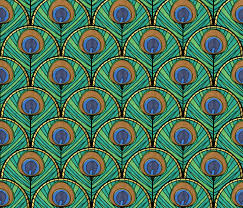 Peacock Pattern Impressive Peacock Pattern Two Fabric Suzzincolour Spoonflower