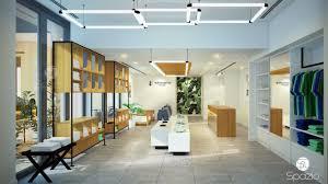 Ceiling Interior Design For Shop Retail Interior Design Company In Dubai Spazio