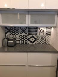 tile backsplash pictures kitchen s blue glass tiles brick subway bathroom white mosaic design