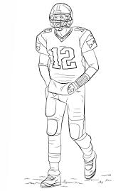 Nfl Coloring Pages To Print Logo Page Free Printable