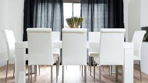 oak dining table seats 14. stylish white real leather and oak dining set table seats 14 m