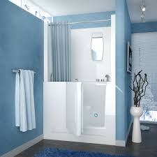 likeable 47 x 27 right drain white walk in bathtub shower enclosure on step bathtubs