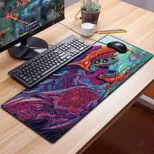 Satın Al Büyük Oyun Mouse Pad Gamer Katı Renk Kilitleme Kenar Klavye Mouse  Mat Oyun Masası Mousepad T200619, TL158.28