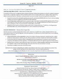 Hospital Coo Resume Sample Fresh Healthcare Executive Resume ...