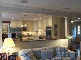 Open Living Room And Kitchen Designs Exterior Cool Inspiration Design