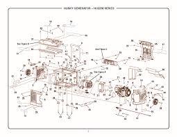 husky hu2250 repair parts hu2250 main unit group