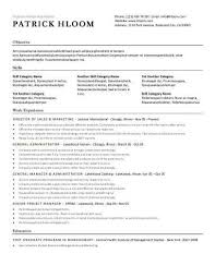 Resume Suggestions