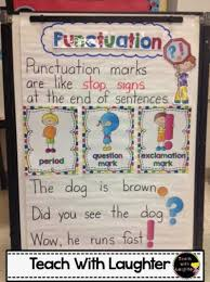 Punctuation Anchor Chart 1st Grade 456 Best Kindergarten Phonics Images Kindergarten Anchor