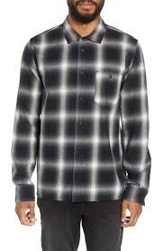 Hudson Designer Shirts Hudson Jeans Regular Fit Plaid Flannel Shirt Nordstrom