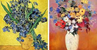 12 Famous <b>Flower Paintings</b>, from Monet to Mondrian