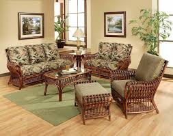 Living Room Wicker Furniture Indoor Wicker Furniture Clearance Motive Base Carpet Bamboo Rattan