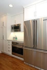 Above Fridge Cabinet Size Medium Size Of Refrigerator Wine Rack