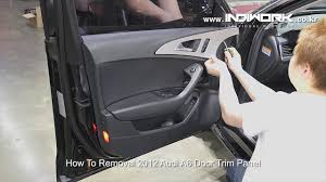 how to removal 2012 audi a6 c7 door trim panel by 인디웍 indiwork