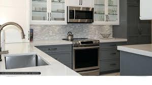 white gray backsplash quartz with modern gray white cabinets quartz kitchen tile images white subway tile