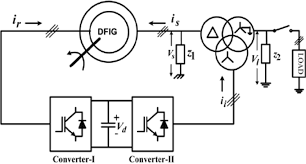 schematic diagram of the system with a 3 winding transformer the step up and step down transformer at Transformer Schematic Diagram