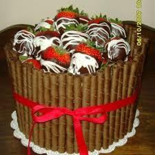 Triple Chocolate Cake Decorating Photos