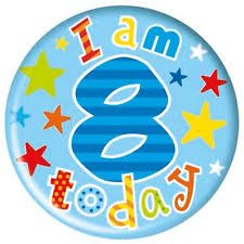 Image result for happy 8th birthday