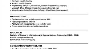 Resume Examples Jobstreet Resume Examples