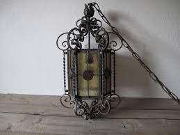 full size of vintage wrought iron light hanging stained glass chandelier chain parts with crystals rustic