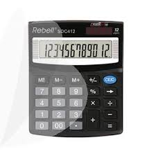 Desktop Calculator Re Sdc412 Bx Officeday