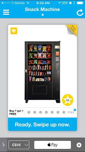 Apple Pay Vending Machine Classy Canadian Vending Machines Partner With PayRange For Apple Pay