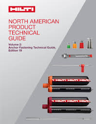 Hilti Design Manual Anchor Fastening Technical Guide Volume 2 Edition 19